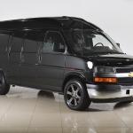 Установка массажа и вентиляции сидений на автомобиль Шевроле Экспресс(Chevrolet Express)