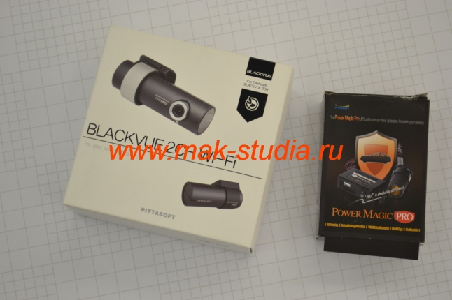 Blackvue Dr550gw-2ch и Power Magic Pro.