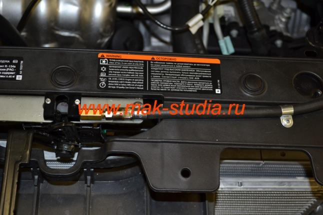 Установка gearlock на капот-бронерукав защитит трос управления
