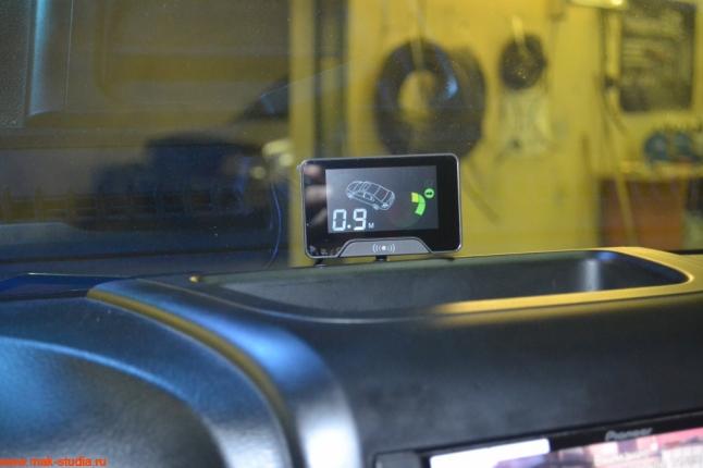 Джип Вранглер установка парктроника