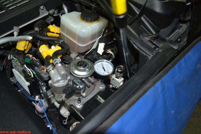 манометр и клапан быстросъём