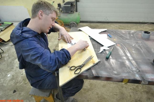 Изготовление крышки столика