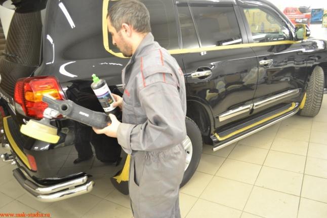 При полировке кузова используются только самые лучшие,современные материалы