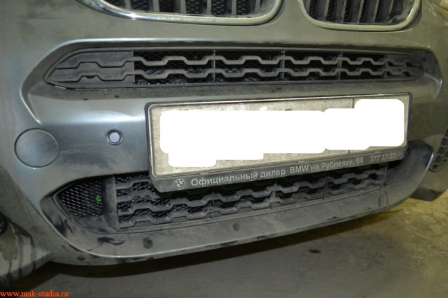 Радиатор защищён
