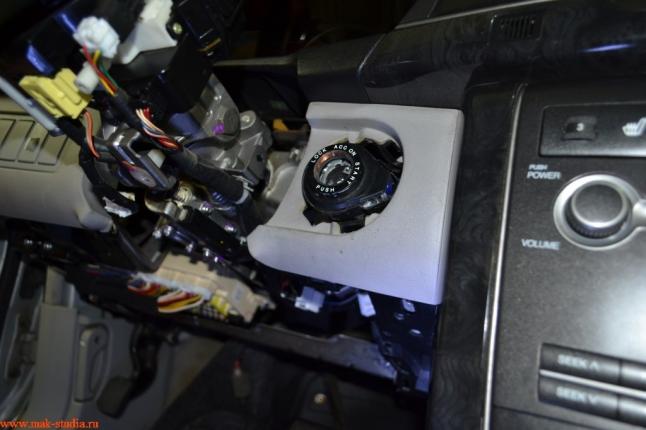 демонтаж штатного оборудования