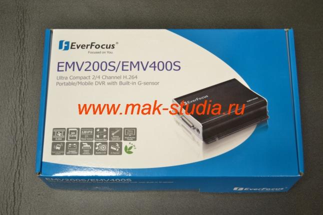 DVR для транспорта EMV400S