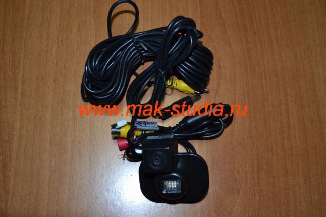 Камера заднего вида на Hyundai Solaris