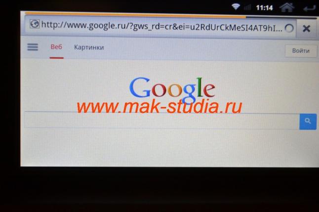 Штатное головное устройство Kia Sorento - выход в интернет доступен