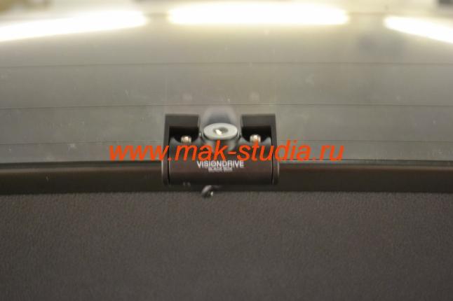 Скрытая установка видеорегистратора - камера небольшого размера.