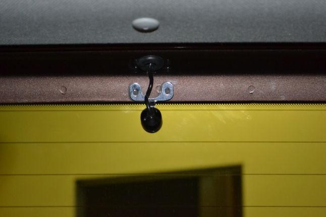 Камера заднего обзора на пятой двери.