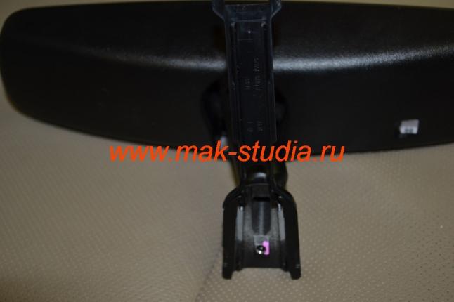 Установка видеорегистратора в автомобиль: крепёж штатного зеркала