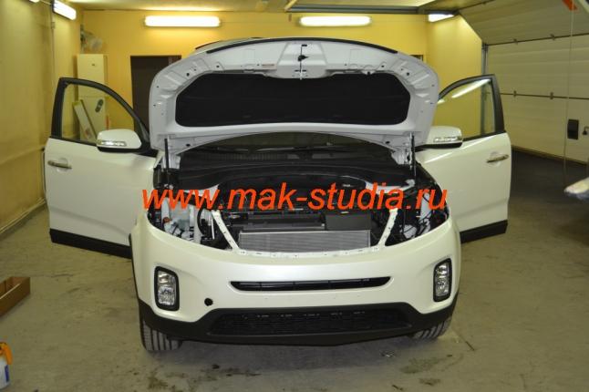 Антигравийная плёнка на авто - защита бампера
