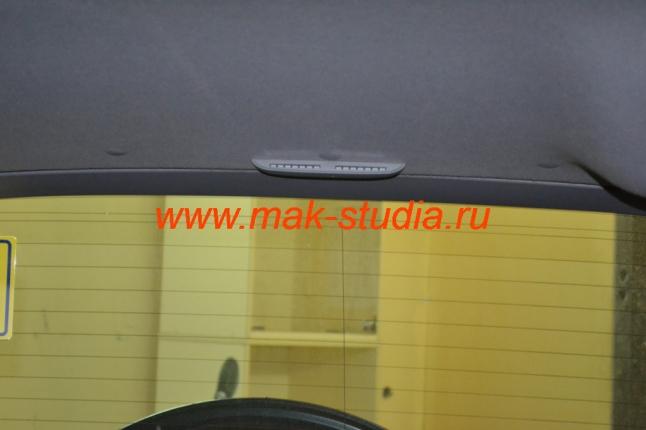 Установка парктроника - расположение переднего индикатора