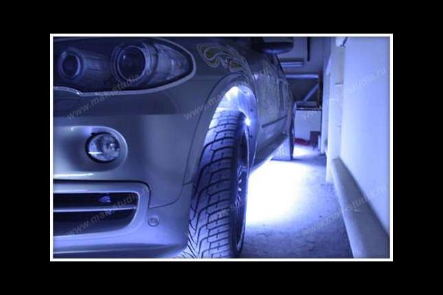 Светодиодная подсветка днища BMW