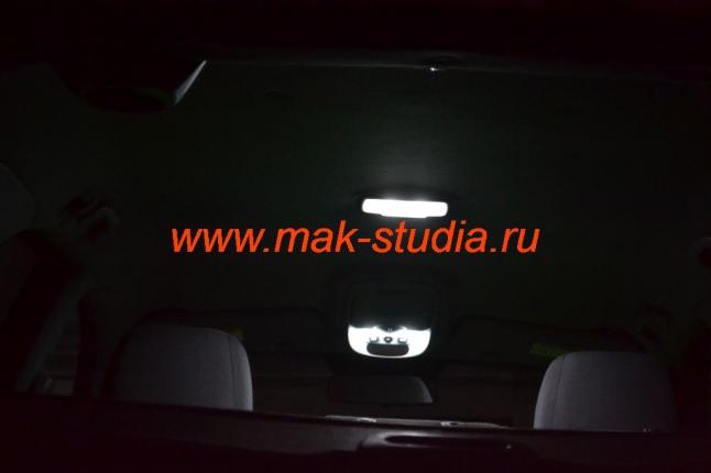 Замена ламп освещения салона авто
