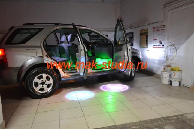 Подсветка салона автомобиля Киа Соренто
