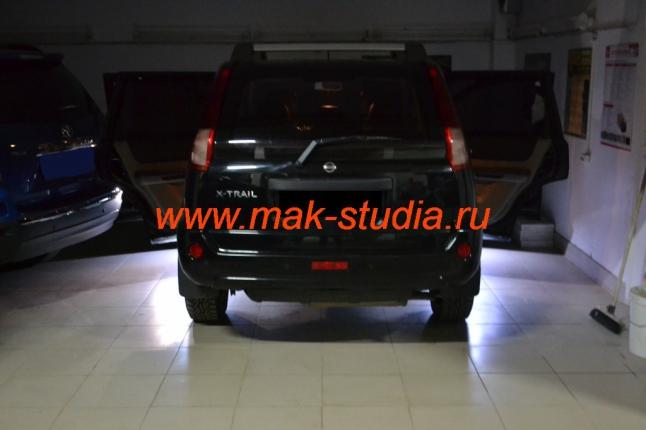 Подсветка салона Nissan