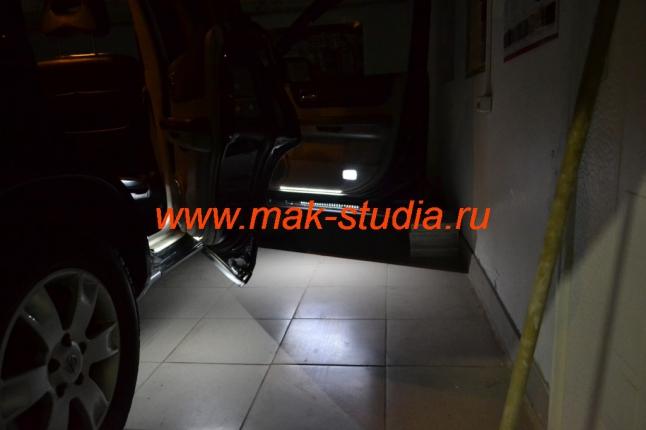 Подсветка салона авто
