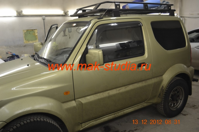 Шумоизоляция Сузуки Джимни (Suzuki Jimny)