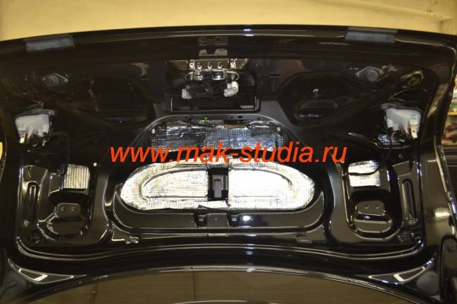 Шумоизоляция крышки багажника