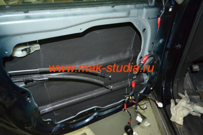 Шумоизоляция дверей автомобиля - сплен, основной теплошумоизолятор