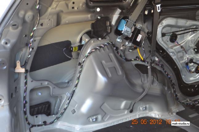 Шумоизоляция автомобиля - арки, от них основной шум