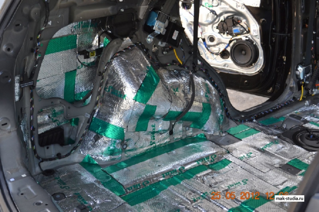 Шумоизоляция автомобиля - арки, от них основной шум в машине