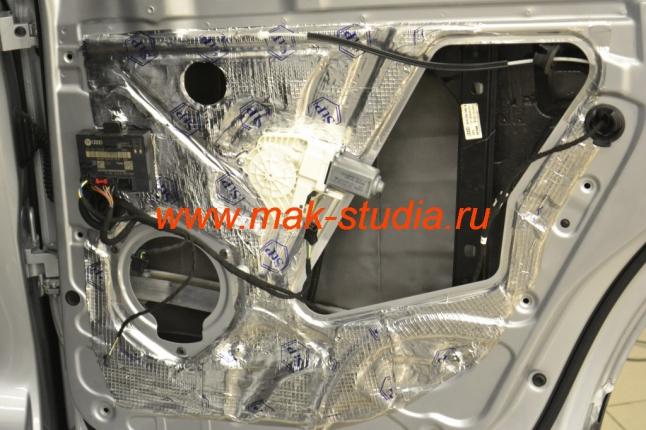 Шумоизоляция дверей автомобиля - ещё слой вибропласта