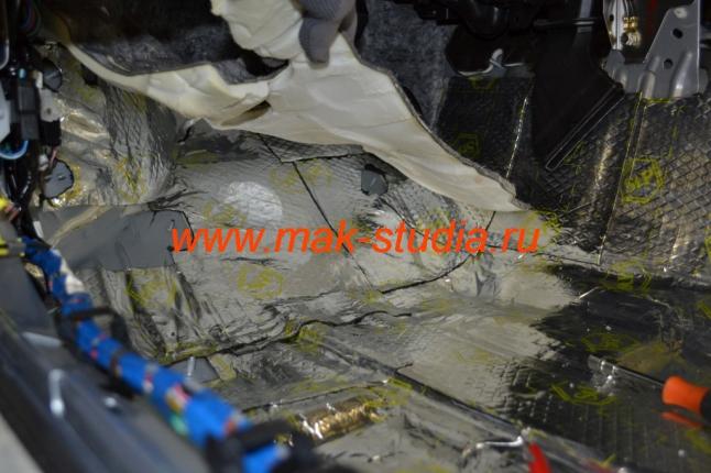 Вибропласт голд является высокоэффективным шумоизоляционным материалом