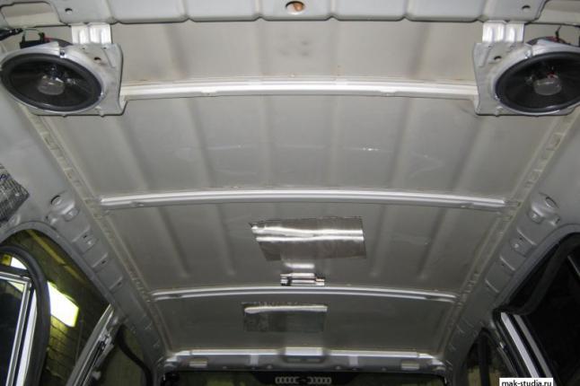 Голый потолок обеспечит отличную барабанную дробь в дождь или град