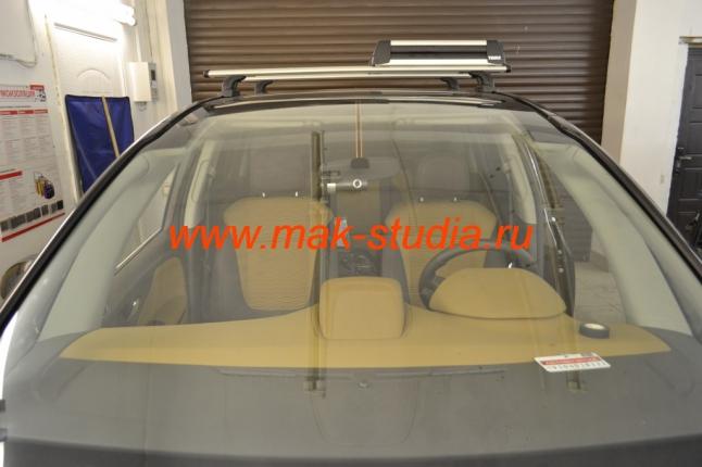 Скрытая установка видеорегистратора на Opel Zafira (Опель Зафира)