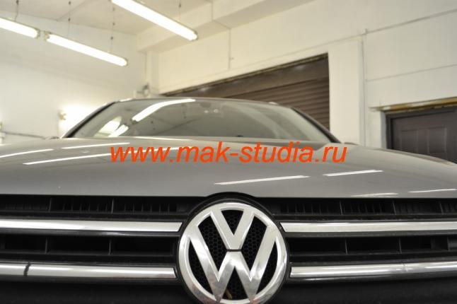 Скрытая установка видеорегистратора на Volkswagen Touareg (Всё видит, всё пишет)