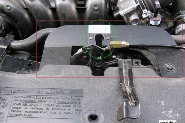 Так выглядит запорный механизм в электромеханическом варианте