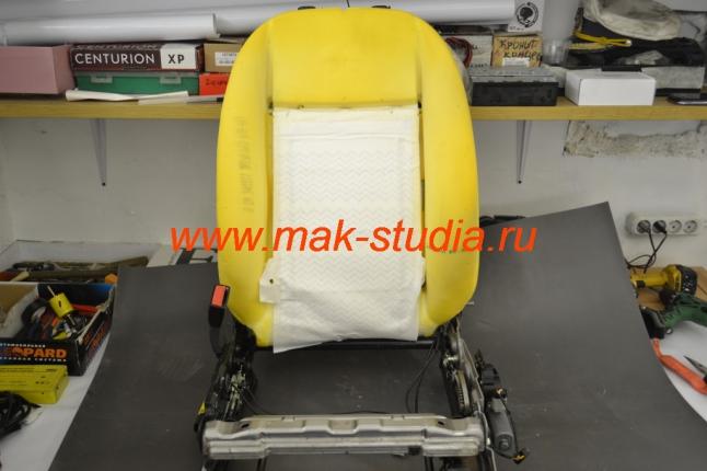 Вентиляция сидений - спинка сиденья