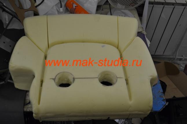 Установка вентиляции сидений - спинка сидений