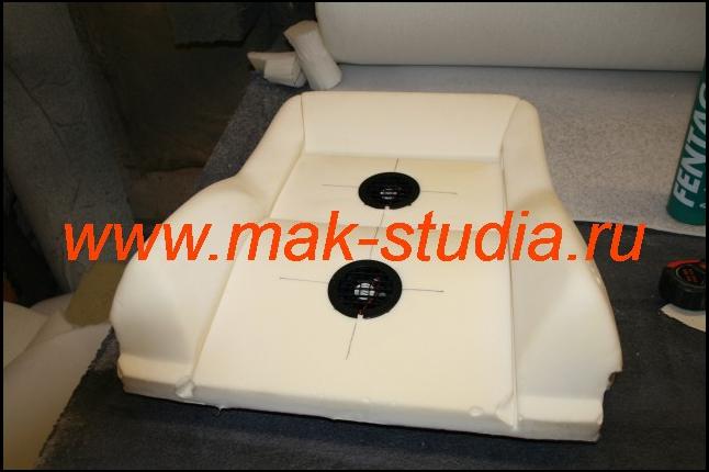 Установка вентиляции (ставим на место сами вентиляторы)