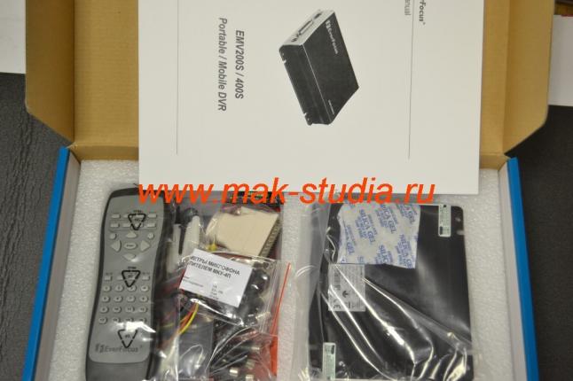 4х канальный видеорегистратор EMV400S
