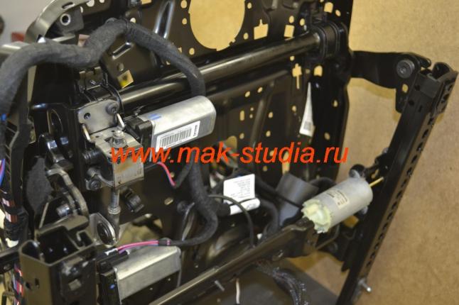 Вентиляция сидений-электроприводы,поясничные упоры,обогревы и т.д.