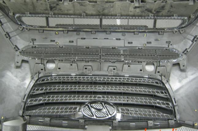 Защита радиатора (защитная сетка радиатора)