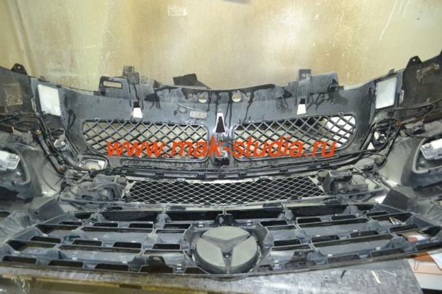 Защита радиатора - установка защитной сетки