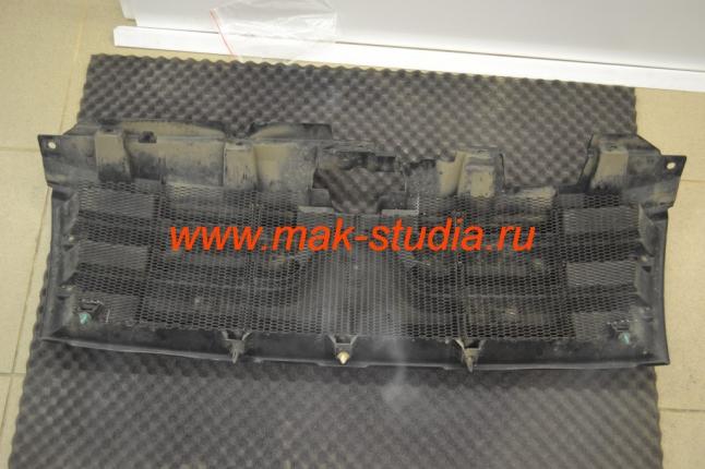 Защитная сетка радиатора - установка