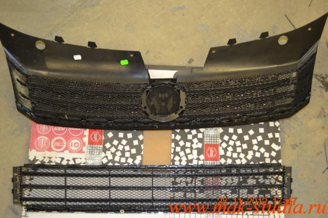 Защитная сетка решётки радиатора