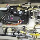 Сиденье сильно перегружено электроникой и различными механизмами