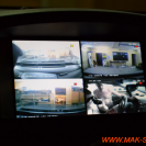 Картинка с 4 камер на штатном головном устройстве.