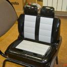 Обычное пластиковое сиденье