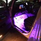 Фиолетовая подсветка салона