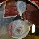 Подготовка поверхности и изолирование элементов подвески