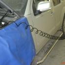 Шланг подкачки 7.5 метров достанет до любого колеса