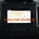 Штатное головное устройство Сar 4G JET Тойота - выход в интернет.