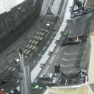 Установка защитной сетки радиатора на Шкода Кодиак (Skoda Kodiaq) 2019 белый